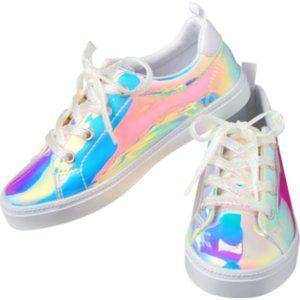 Gymboree Patent Iridescent Sneakers